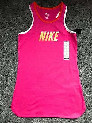BNWT Girls Hot Pink Top Of Nike Age 12-13