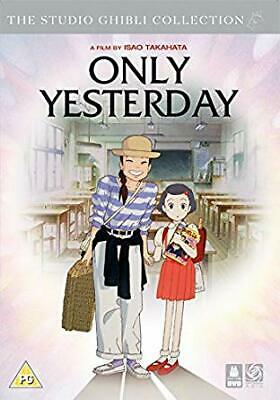 DVD - Only Yesterday Engl - ID66z - New