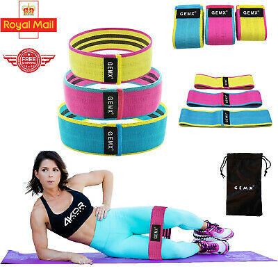 Non Slip Hip Circle Fabric Resistance Booty Band Fitness Heavy Duty Glute Bands