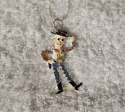 TOY STORY WOODY Inspired Large Charm NECKLACE Unwanted + Free Gift Bag
