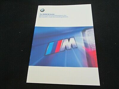 1999 BMW M3 Coupe M 3 Sedan E36 Z3 M Coupe & Roadster Deluxe Brochure US Catalog