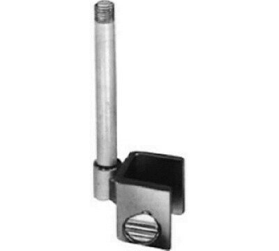 "Store Display Fixtures 12 NEW SIGN CLAMP FOR 3/4"" SQ. TUBING W/ 3"" x 3/8"" STEMS"