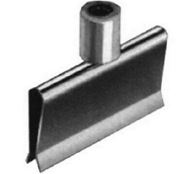 """Store Display Fixtures 6 NEW SPRING CLAMPS FOR 1/4"""" CROSS BAR WITH 3/8"""" FITTIN"""