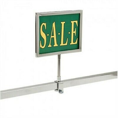 """10 New 7"""" x 11"""" Metal Sign Holder Card Frames With Square Tubing Base 12"""" Tall"""