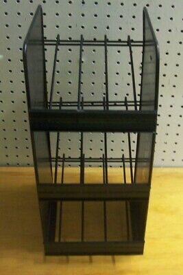 """Store Display Fixtures 3 SHELF COUNTER TOP WIRE SHELF DISPLAY 17"""" tall"""