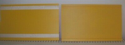 """Store Display Fixtures 6 ADHESIVE 7"""" X 11"""" SIGN HOLDERS"""