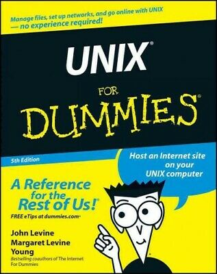 Unix for Dummies, Paperback by Levine, John R.; Young, Margaret Levine, Brand...