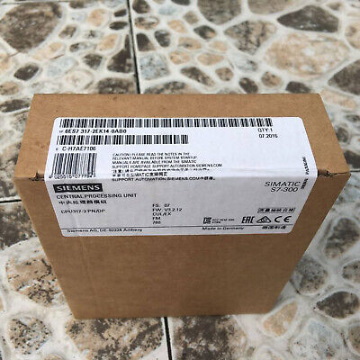 1PC NEW IN BOX  Siemens 6ES7 317-2EK14-0AB0 6ES7317-2EK14-0AB0 free shipping