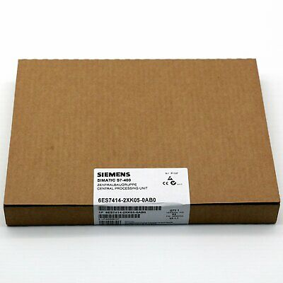 1PC New In Box Siemens 6ES7 414-2XK05-0AB0 CPU Module 6ES7414-2XK05-0AB0