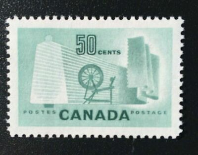 Canada No 334, Textile Industry,  Mint Nh