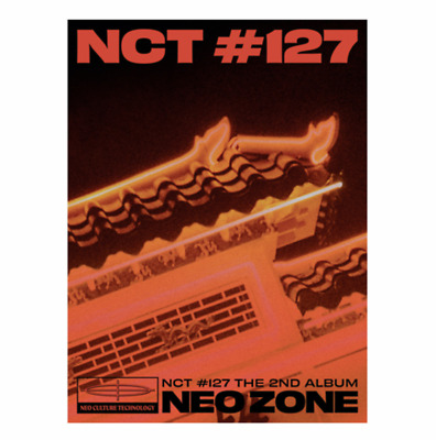 "NCT 127 New 2nd Album ""NCT #127 Neo Zone"" - 1 Photobook + 1 CD / Official T Ver"