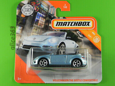 Matchbox 2020 VW volkswagen the beetle convertible MBX City nuevo /& OVP