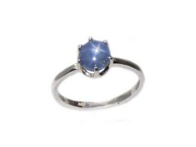 Blue Star Sapphire Ring 2½ct Antique 19thC Ancient Persia Sorcery Oracle Prophet