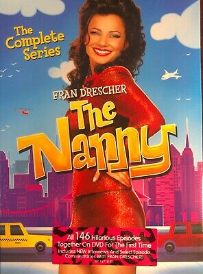 The Nanny: The Complete Series DVD 19 Disc Set