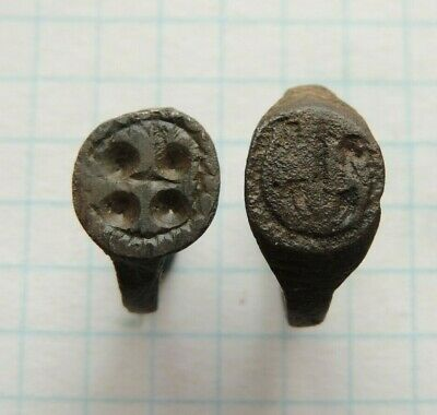 Ancient bronze female rings  Middle Ages