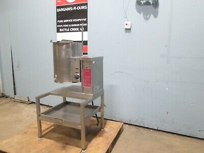 """""""SOUTHBEND/CROWN"""" HD COMMERCIAL (NSF) 208V 3Φ ELECTRIC 5gl STEAM KETTLE w/STAND"""