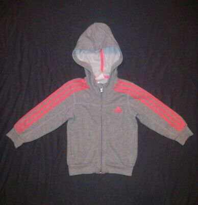 Adidas | Girls Tracksuit Hoodie | Kids Size UK 2-3 Years
