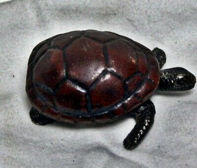 Vintage  Turtle Trinket Pill Box