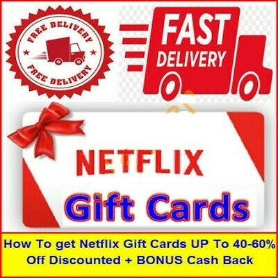 How To get Netflix Gift Card UPTo 40-60%Off Discounted Ebbok (30Second Delivery)