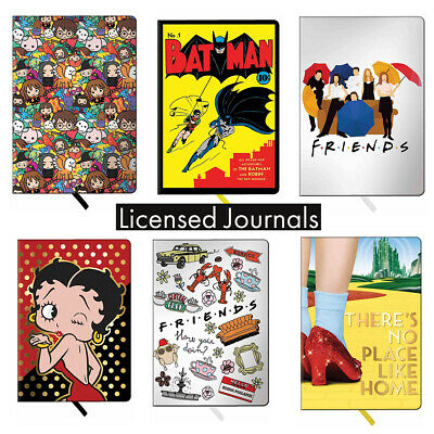 Licensed Journal Notebook with Hard Cover Batman Betty Boop Harry Potter