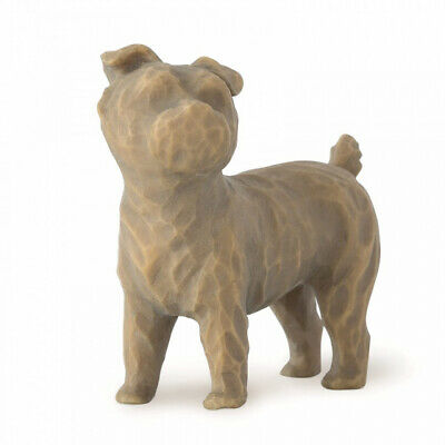 NEW Love my Dog -small, standing Figurative Sculpture Willow Tree by Susan Lordi