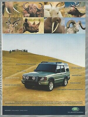 drawing Classic Vintage Advertisement Ad A12-B 2004 Land Rover LR3
