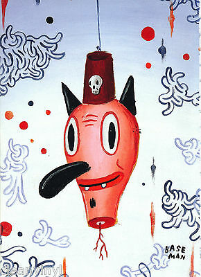 """Gary Baseman /""""Special Love of Chou 1/"""" Book Page = Frame it anyway you want!"""