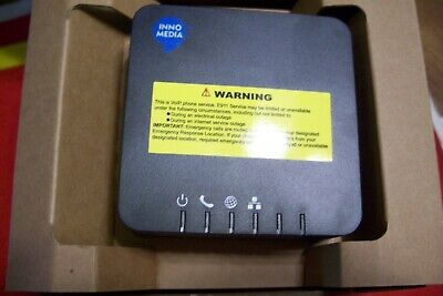 MTA8328-1N ATA SIP 2.0 VoIP Phone Line Telephony Adapter FXS HughesNet