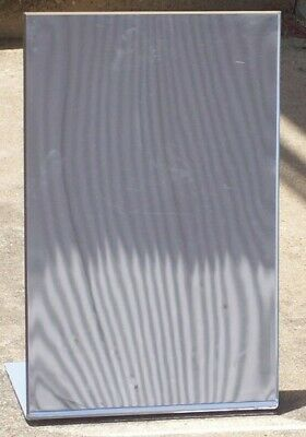 "Store Display Fixtures  NEW 12""Wx18""H BEVELED EDGE ACRYLIC FLOOR MIRROR"
