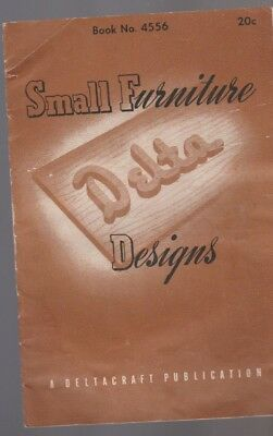 Small Furniture Delta Designs Deltacraft Publication Book 4556