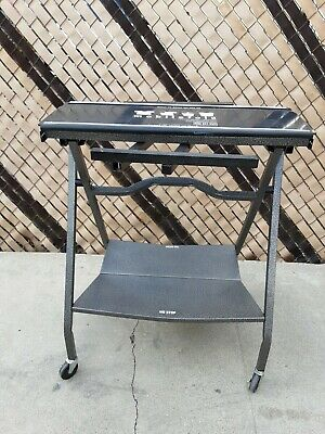 Mobile Clothing Folding Table Station Portable and Foldable commercial folding