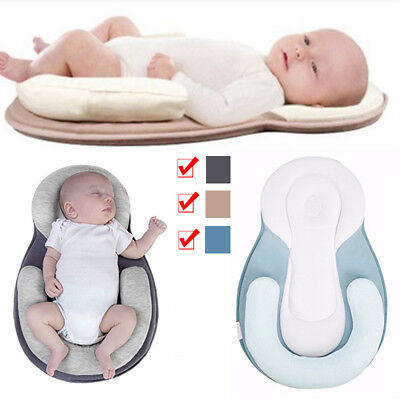Bed Newborn Pillow Baby Crib Travel Folding Safe Portable Infant