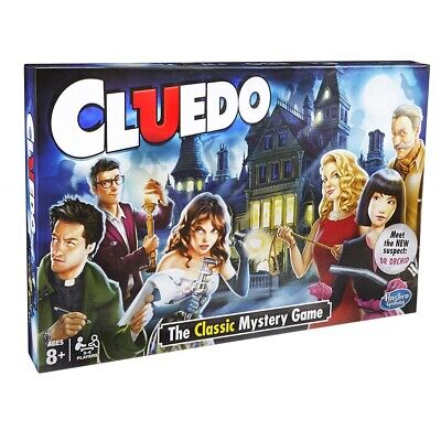 Cluedo The Classic Mystery Board Game Perfect Family Party Game UK