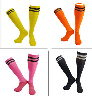 Plain Football Socks Rugby Hockey Soccer Free UK Delivery Mens Womens Kids &