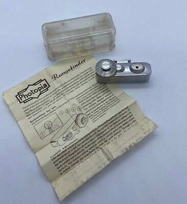 Vintage Photopia Range Finder Attachment Accessory Made In Germany[MINT++]