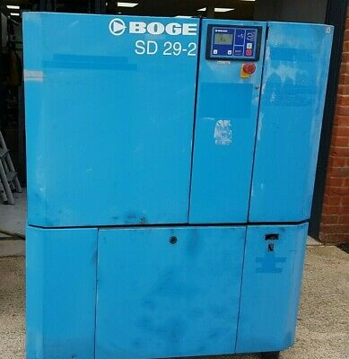 BOGE 22kw Screw Compressor package, Complete with Dryer and Filters