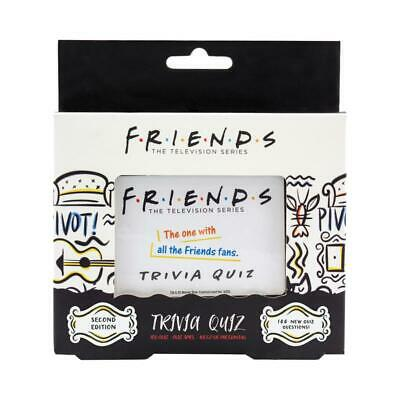 Friends Trivia Quiz Game 2nd Edition - Test Friends Sitcom Knowledge Card Game