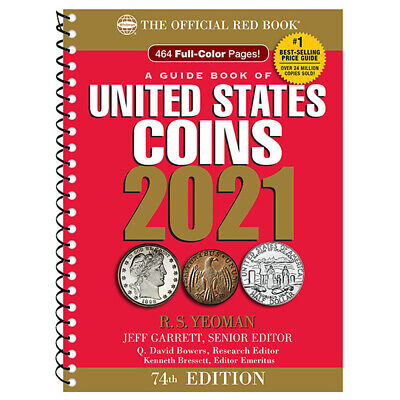 A Guide Book of United States Coins Spiral 2021 Red Book SHIPPING NOW! Redbook