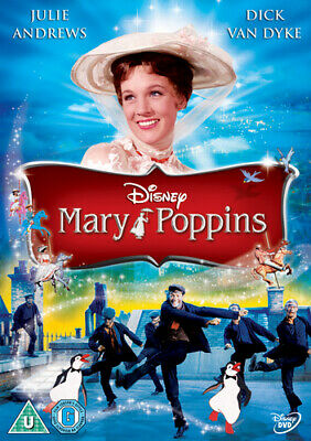Mary Poppins DVD (2013) Julie Andrews, Stevenson (DIR) cert U ***NEW***
