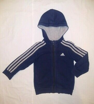 Adidas | Boy's Zipper Hoodie | Kid's Size UK 5-6 Years