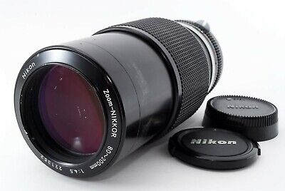 Nikon zoom NIKKOR 80-200mm f/4.5 zoom lens from japan Excellent+