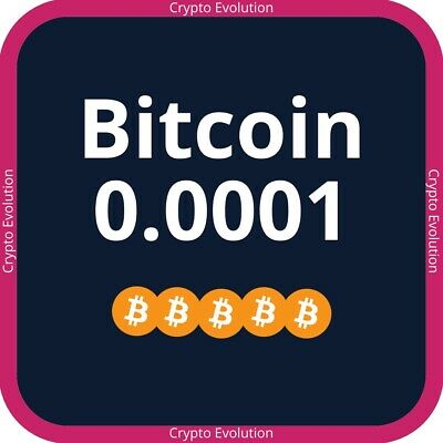 Bitcoin 0.0001 BTC Crypto Cloud Mining Contract Investment
