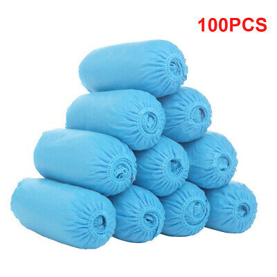 100pcs Thickened Non-woven Shoes Cover Overshoes Shoes Cover