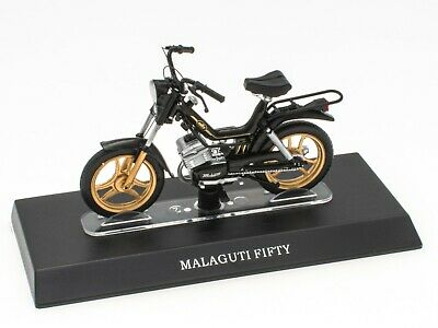 Mobylette MALAGUTI FIFTY 1/18 Leo Models Diecast Miniature Scooter Moto M002