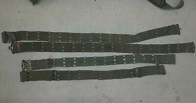 M1956 Patt Web Belt Australian Army Dated Vietnam Issue Used  Condition