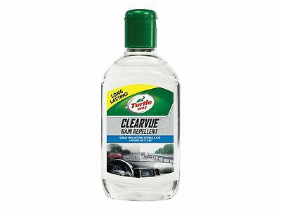 Turtle Wax Clearvue Rain Repellent - Solvent Based Glass Treatment - 300ml