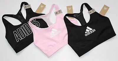 3 New Style ADIDAS Racerback DON'T REST ALPHASKIN Athletic SPORTS BRA Lot SMALL
