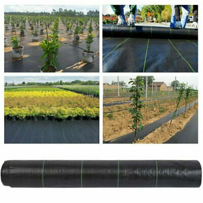 Extra Heavy Weed Control Fabric Membrane Garden Landscape Ground Cover Sheet Mat