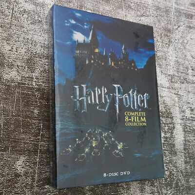 Harry Potter Complete 8-Film Collection DVD Fast shipping Region 1 US Brand New