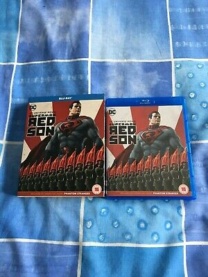 Superman Red Son Region Free(ABC)Blu-Ray With Slip Case.